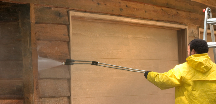 Exterior House Cleaning Service